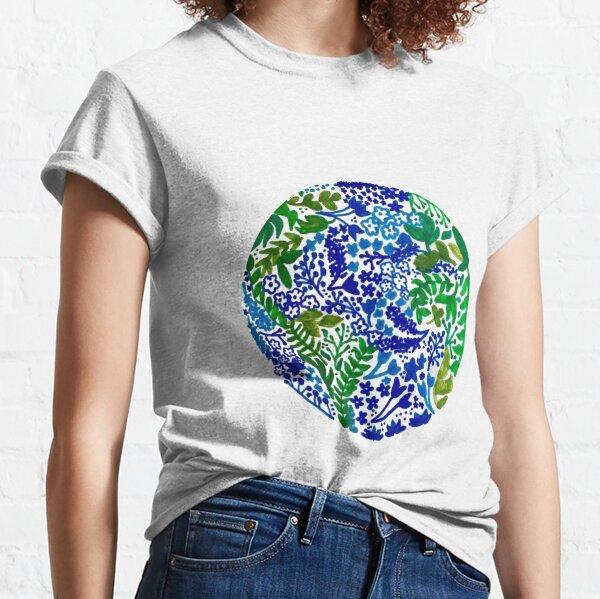 La tierra ríe en flores Camiseta clásica