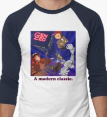 Doctor Zed Men's Baseball ¾ T-Shirt