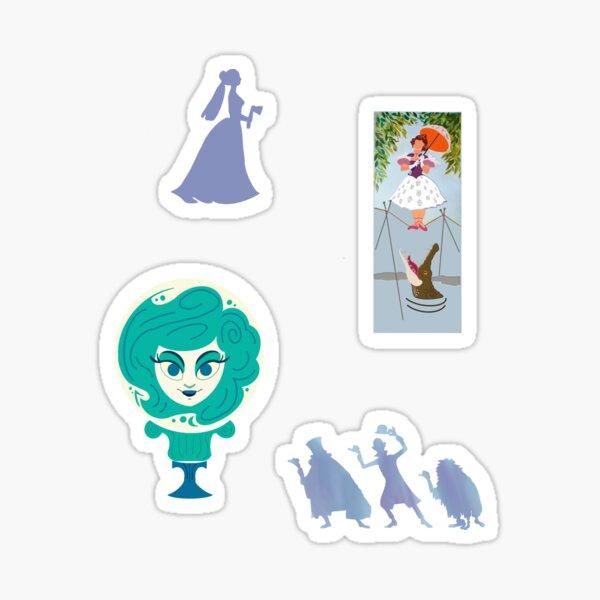 Haunted Mansion Sticker Pack Sticker