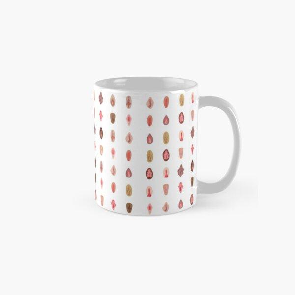 Vulva Pattern Classic Mug