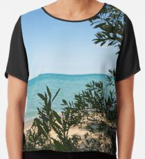 Beach, Lake House, Great Lakes Chiffon Top