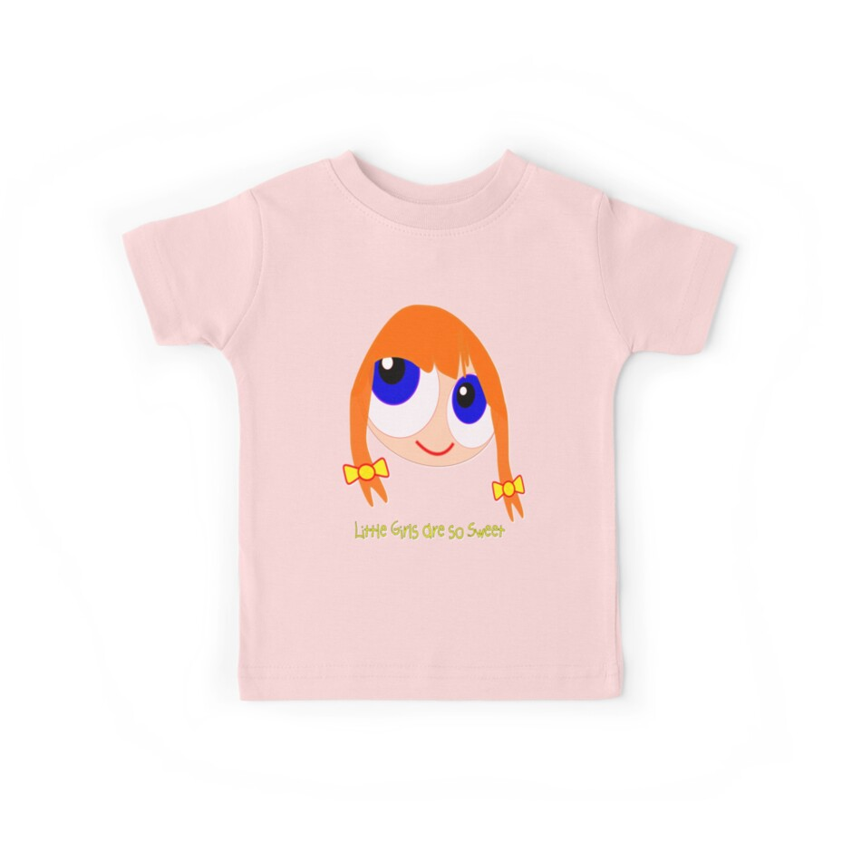 Little Girls are so Sweet T-shirt, etc design by Dennis Melling