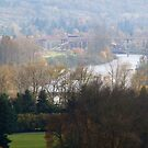 View of Eugene, Oregon by ruthbacker
