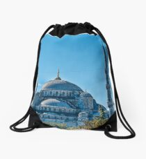 The Blue Mosque, Istanbul Drawstring Bag