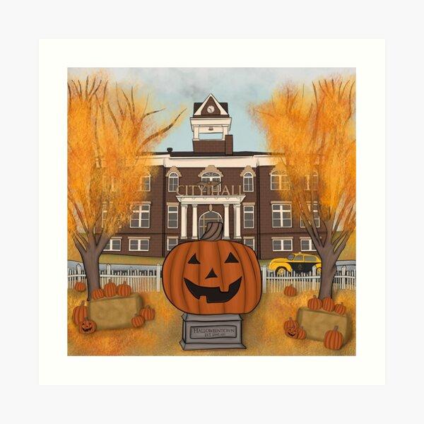 Halloweentown Art Print