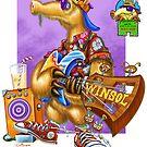 Winsol the Beatnik Aardvark by Terry Smith