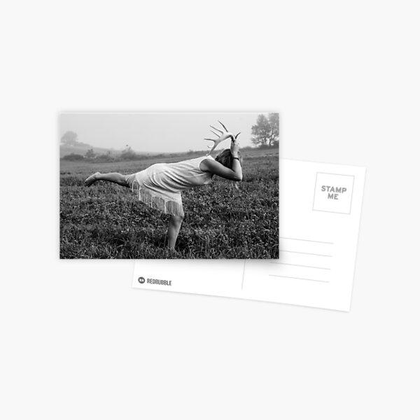 Gruß im Morgengrauen Postkarte