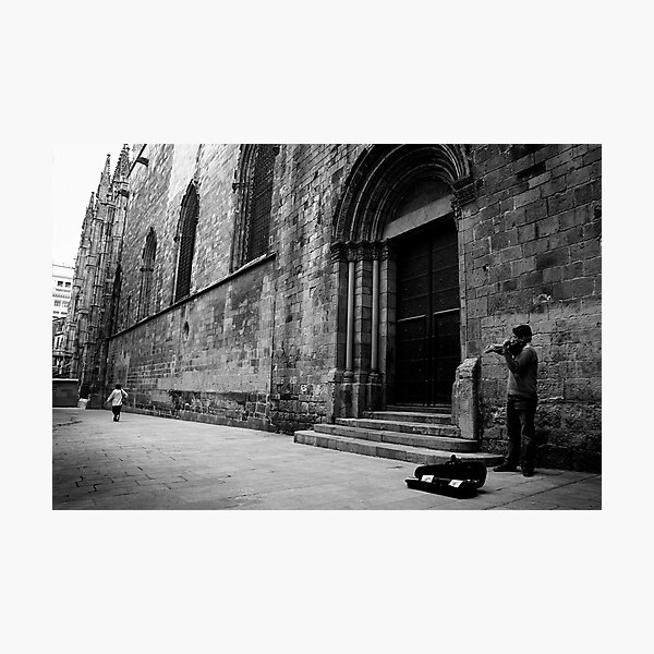 Soloist, Barcelona Photographic Print