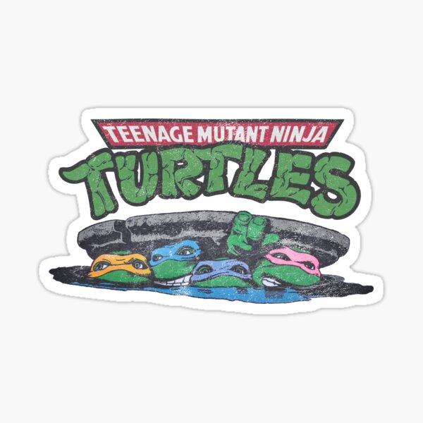 Ninja Turtles 1990 Sticker