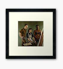 The Painting Framed Print