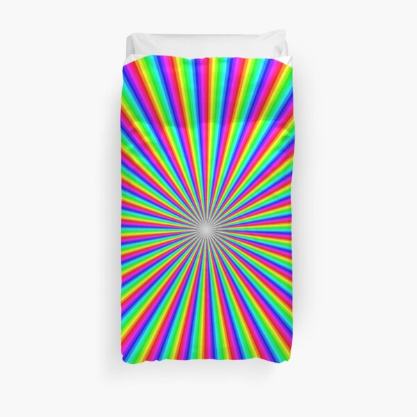#Op #art - art movement, short for #optical art, is a style of #visual art that uses optical illusions Duvet Cover