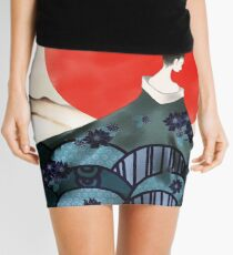 Beauty of Ancient Times Mini Skirt