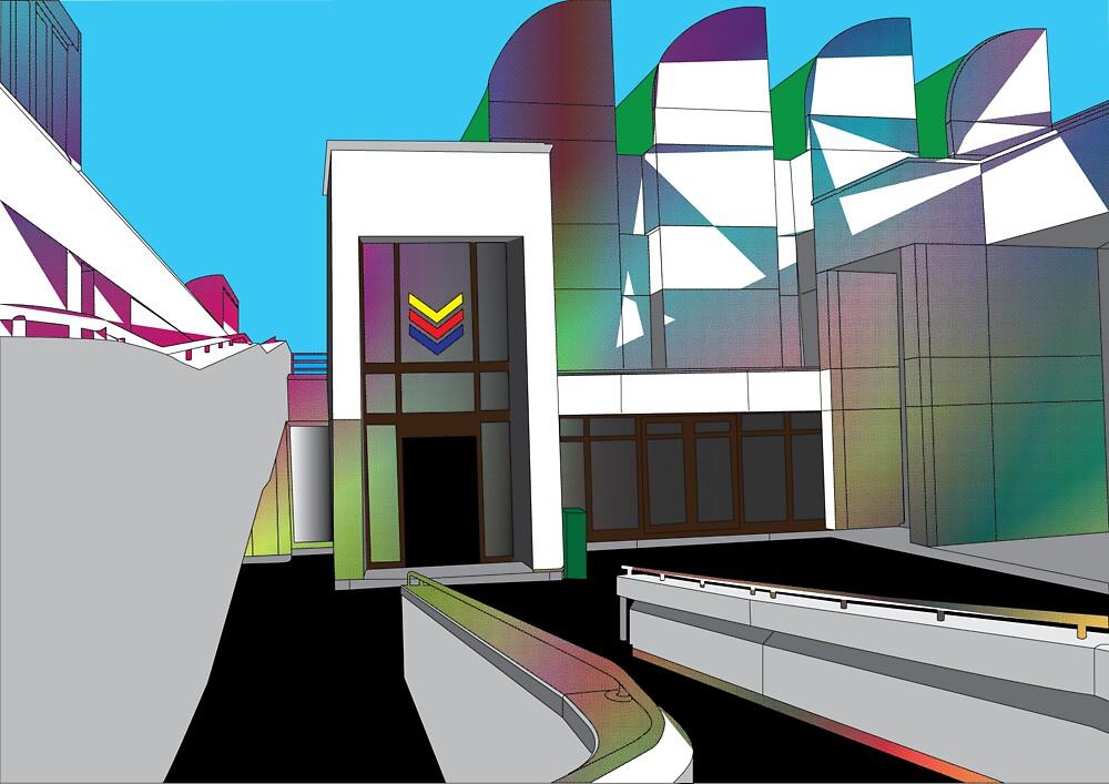 Halftone-Bauhaus by Synastone