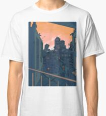 Cityscape in the Evening Classic T-Shirt
