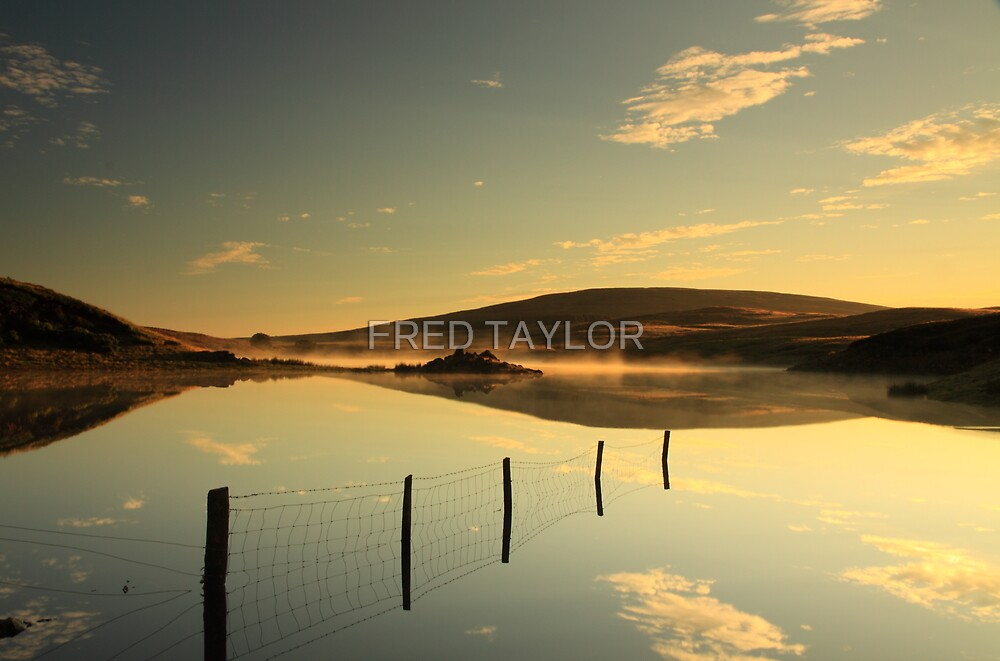 Vanishing Lake.  by FRED TAYLOR