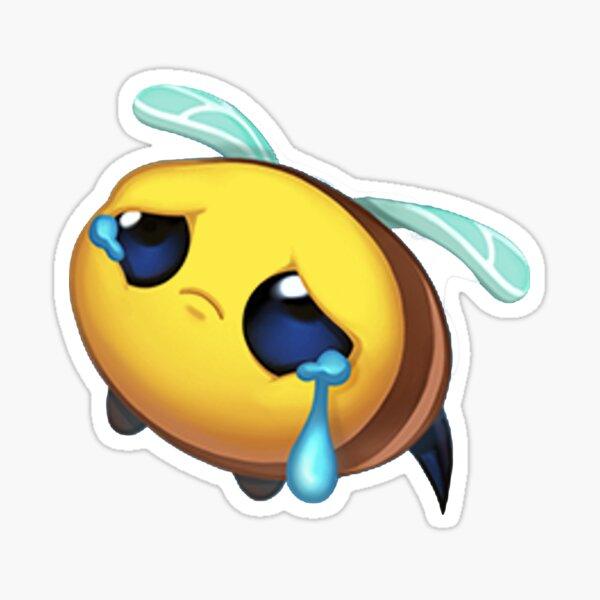 Bee Sad Emote - League of Legends Sticker