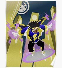 Detective Comics Presents: Superhero Static Shock! Poster