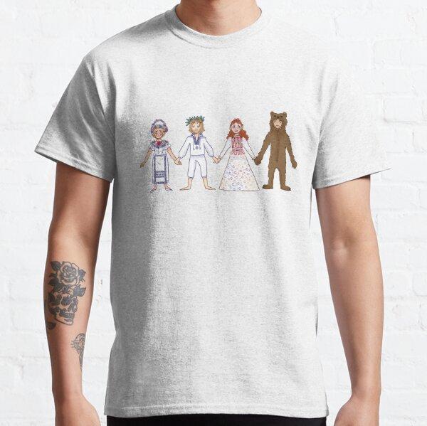 Line-up du milieu T-shirt classique