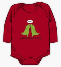 Impossible Love- T-rex edition  One Piece - Long Sleeve