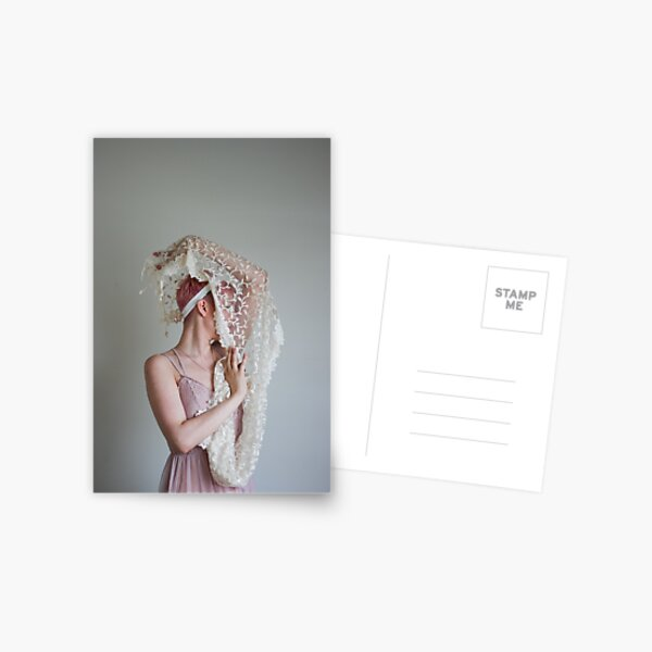 Dance of the Veil Postcard