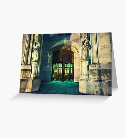 Office Open Greeting Card