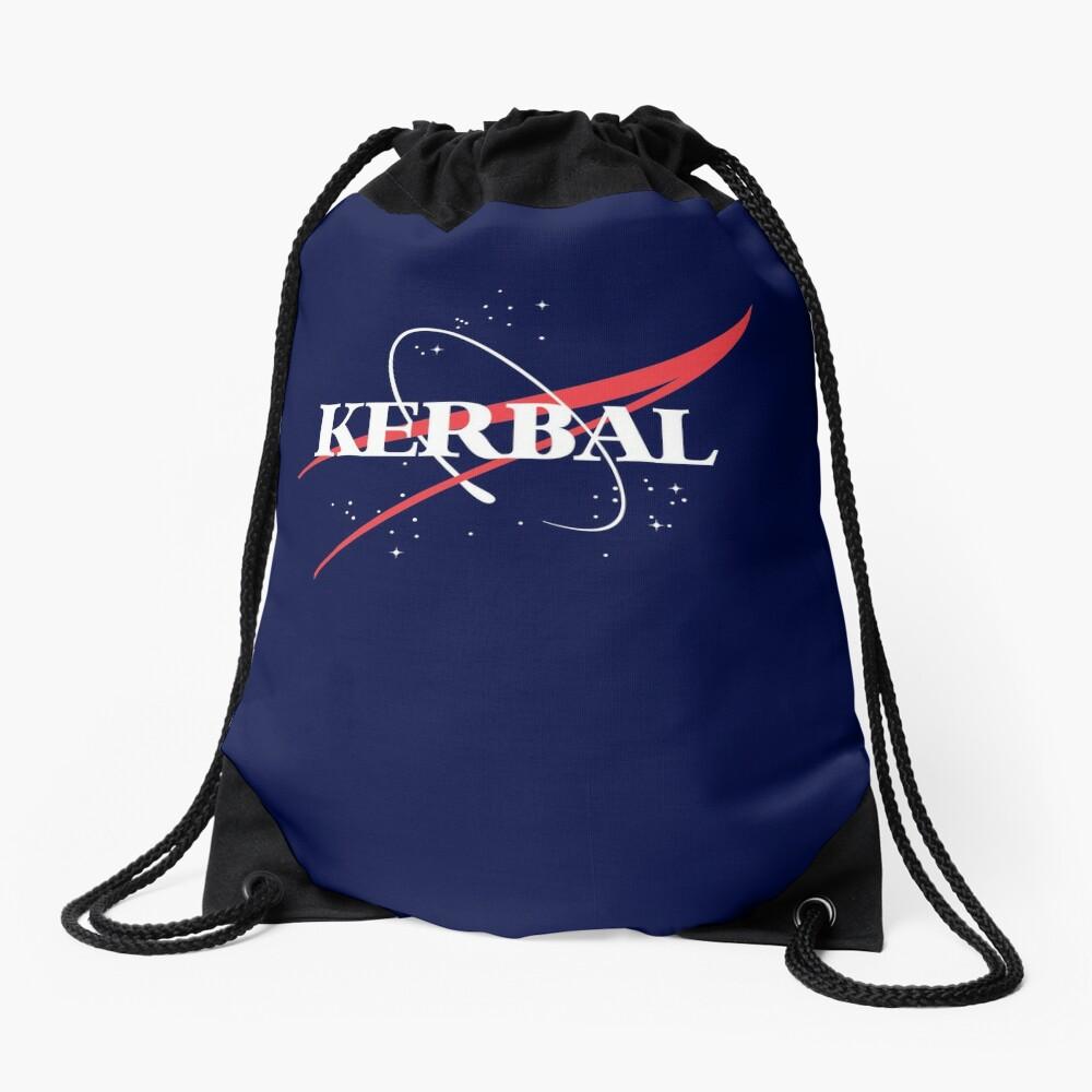 Kerbal Space Program Hoodie Drawstring Bag