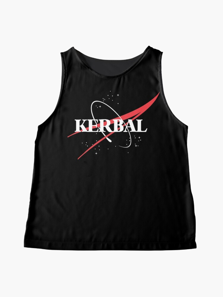 Alternate view of Kerbal Space Program Hoodie Sleeveless Top