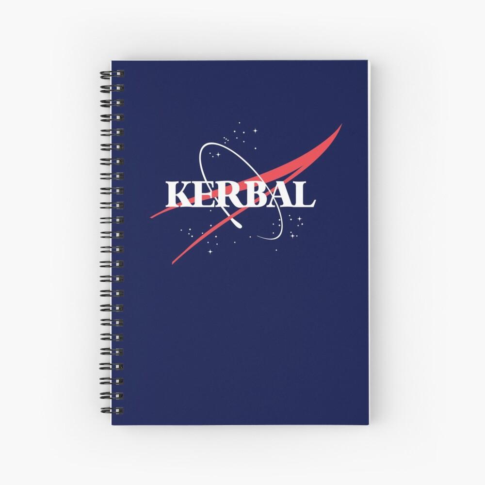 Kerbal Space Program Hoodie Spiral Notebook
