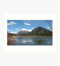 Vermillion Lakes, Banff, Canada Art Print