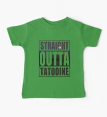 Retro Straight Outta Tatooine Baby Tee