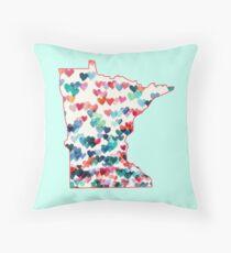 Minnesota State Throw Pillow