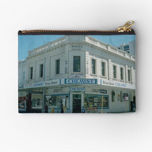 Wood's Building, 544 Hay Street Perth, February 1982 State Library of Western Australia Zipper Pouch