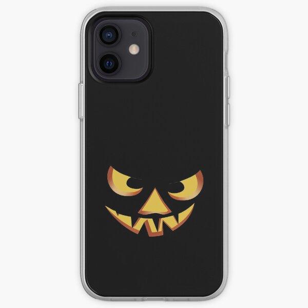 Kürbisgesicht für Halloween 3 iPhone Flexible Hülle