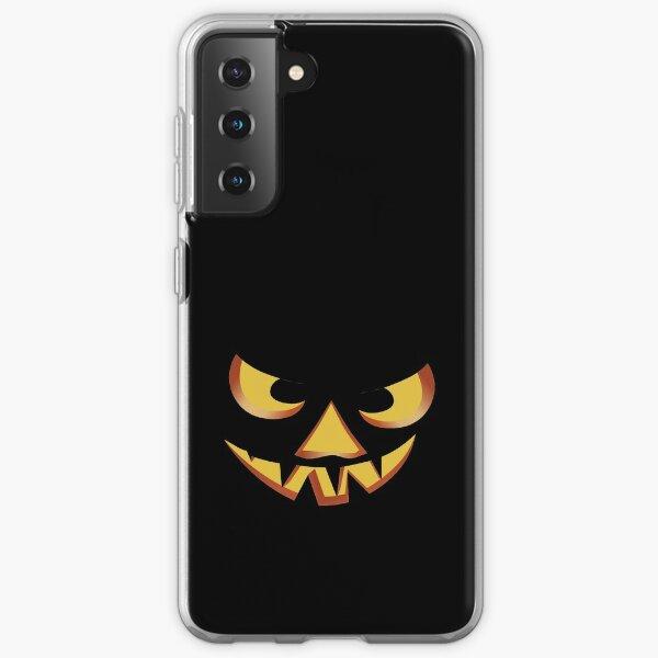 Pumpkin face for Halloween 3 Samsung Galaxy Soft Case