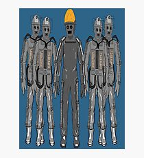 The Second Cybermen (Tomb Cybermen) Photographic Print