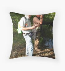 Cunsey Beck, Cumbria ~ Photographers Doing Something Throw Pillow