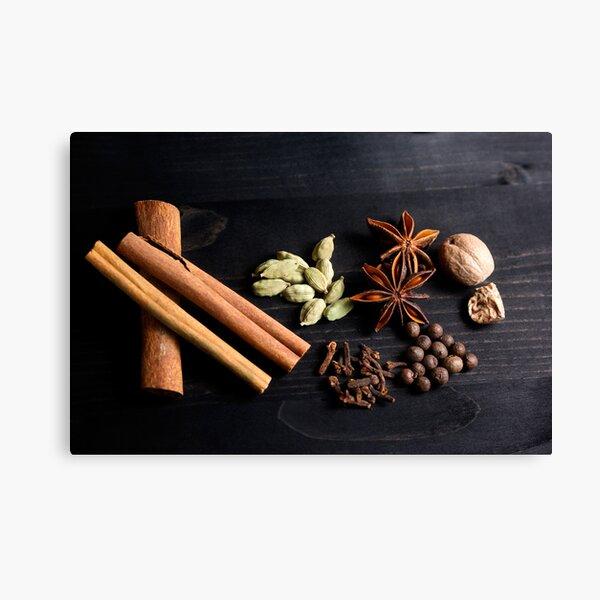 Aromatic Spice Mixture Canvas Print