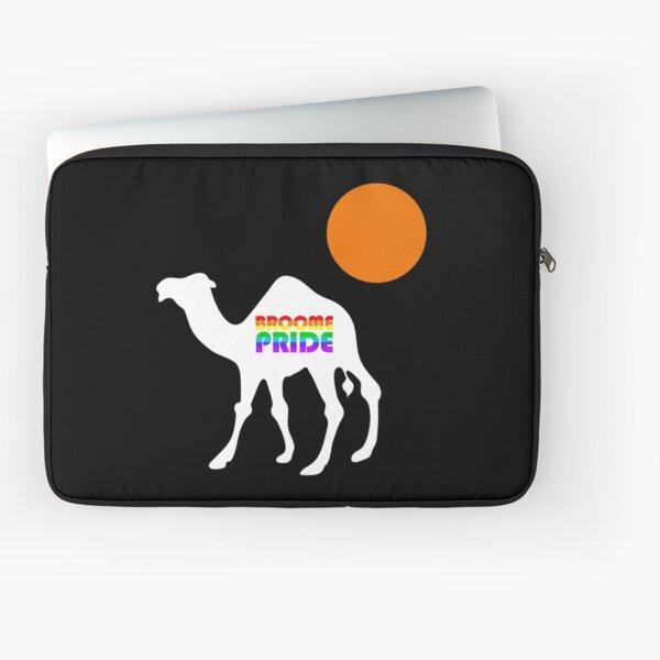 Broom Pride Safari - White Camel Laptop Sleeve