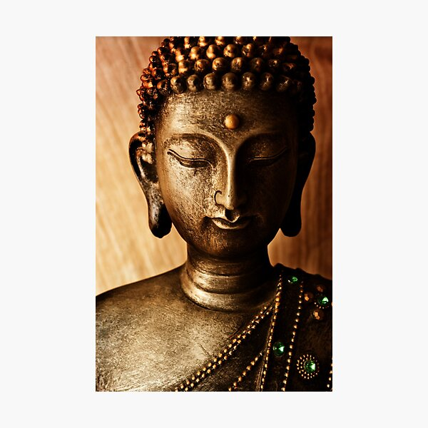 Golden Buddha Photographic Print