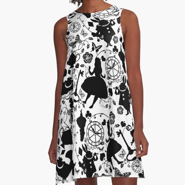 Alice in Wonderland A-Line Dress