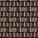 Retro big box Games pattern by artsandherbs
