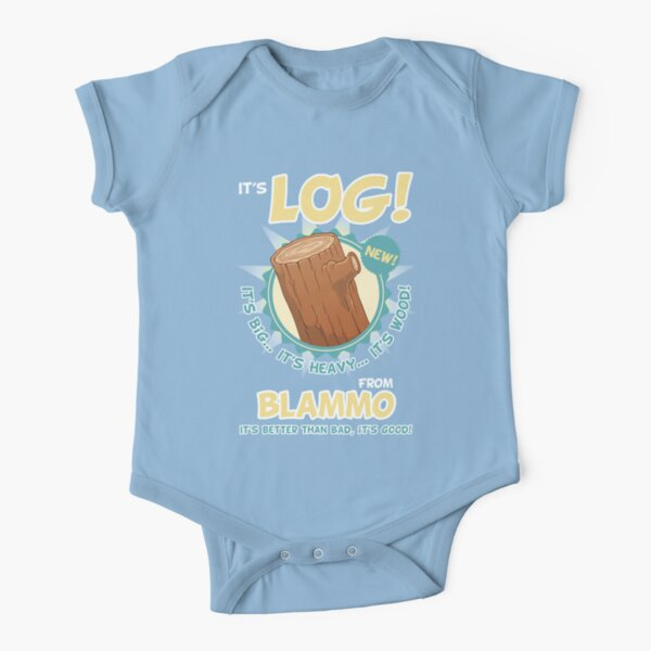 Its Better Than Bad, Its Good! Short Sleeve Baby One-Piece