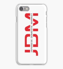 JDM Japanese Domestic Market (light background) iPhone Case/Skin