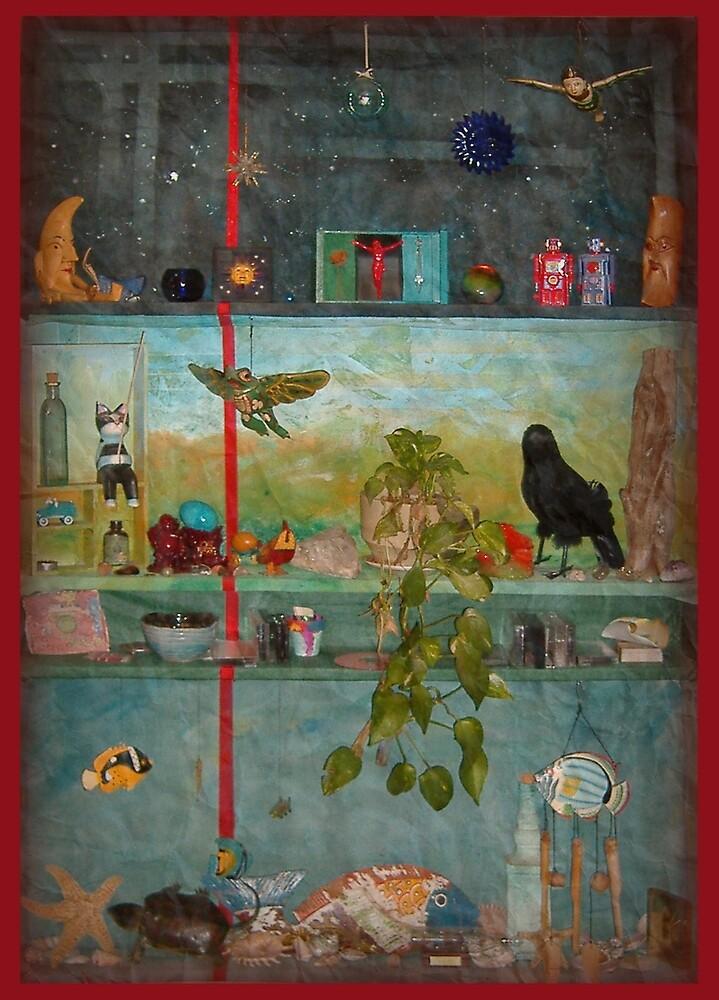 EUCLIDIAN SHELVES by Steve Wilbur