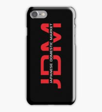 JDM Japanese Domestic Market (dark background) iPhone Case/Skin