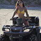 4-wheeler on Beach by AngelEyesJamie