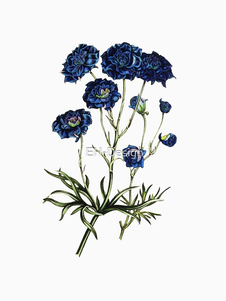 Blue Flowers von EH-Design
