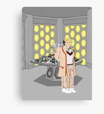 The Fifth Doctor Canvas Print