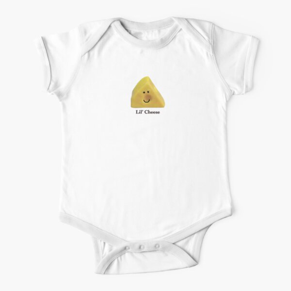 Lil' Cheese Short Sleeve Baby One-Piece