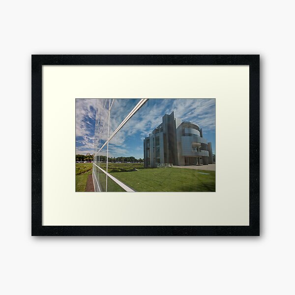 Seperation of Church and State Framed Art Print
